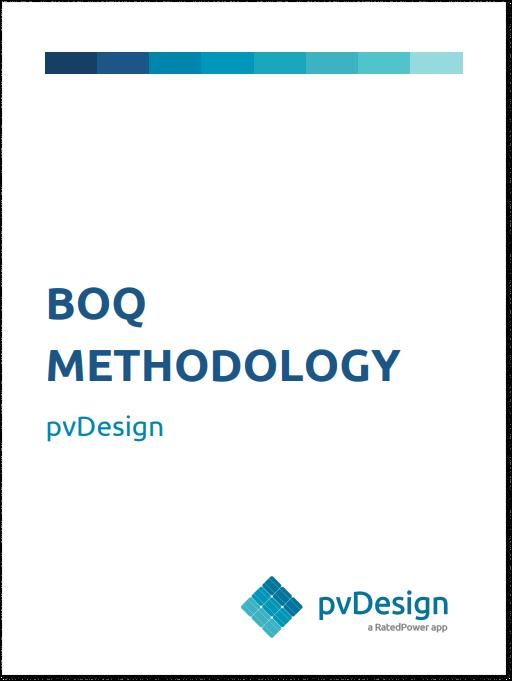 Bill of quantities methodology